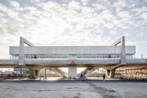 Orientkaj and Nordhavn Metro Stations